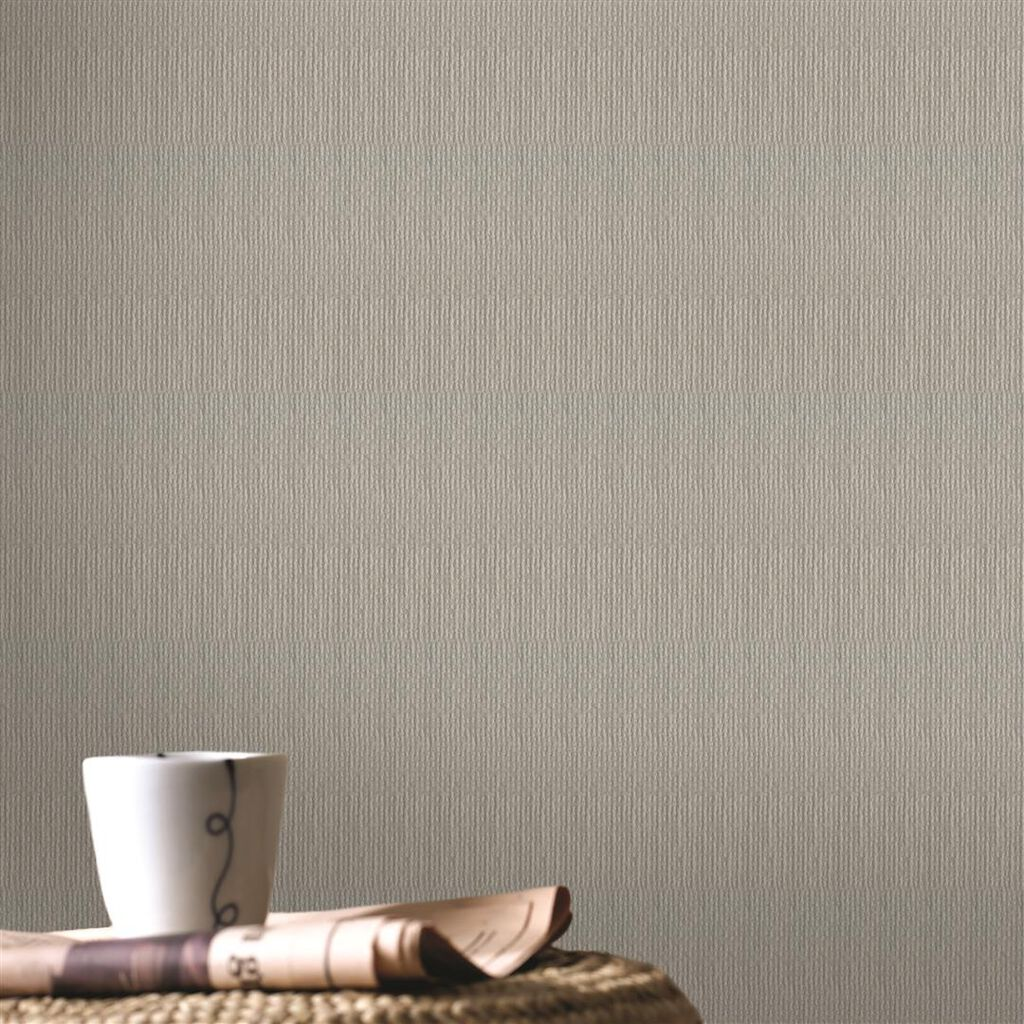 Textile Light Grey Wallpaper Grahambrownuk