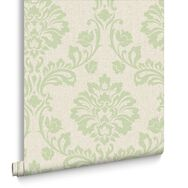 Aurora Green Wallpaper, , large