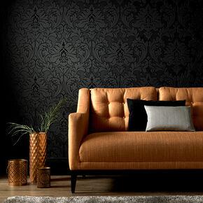 Large Majestic Black Wallpaper