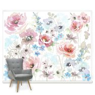 Couture Fleur Mural, , large