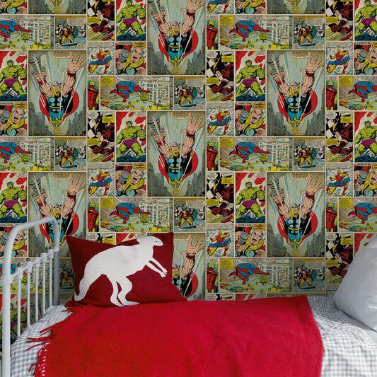 Marvel Comic Strip Wallpaper. Marvel Comic Strip Wallpaper   GrahamBrownUK