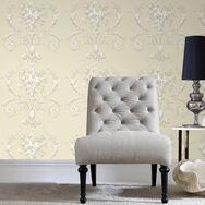 De Lacey Neutral Wallpaper, , large