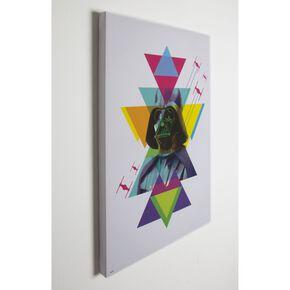 Star Wars Neon Darth Vader Printed Canvas, , large
