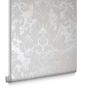 Forest Muses White Wallpaper, , large