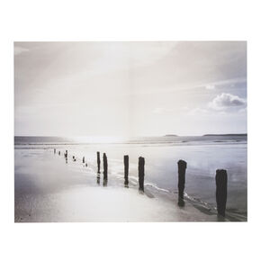 Distant Shores Printed Canvas, , large