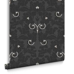 Paradise Charcoal Wallpaper, , large