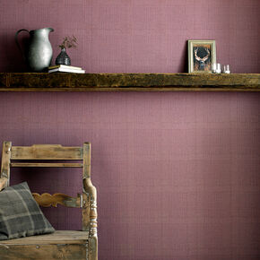 Tweed Thistle Wallpaper, , large