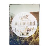 Life Begins  Printed Canvas, , large