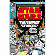 The Empire Strikes Comic Canvas, , large
