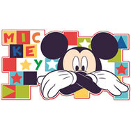 Mickey Schuimelement Muurdecor, , large