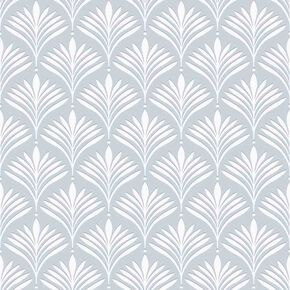Bonnie Geo Duck Egg Wallpaper, , large