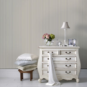 Maestro Stripe White Wallpaper, , large