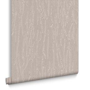 Crushed Silk Latte Wallpaper, , large