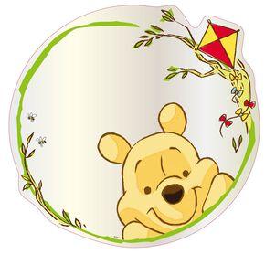 Winnie the Pooh Mirror Medium, , large
