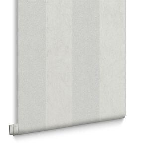 Artisan Stripe Dove Wallpaper, , large