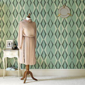 Green Wallpaper Light Dark Green Wallpaper Graham Brown US - Green and brown wallpaper