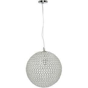 Glass Beaded Ball Pendant Light, , large
