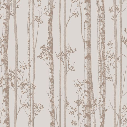 Linden pebble and rose gold wallpaper graham brown for Wallpaper homebase grey
