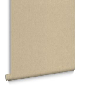 Montague Plain Olive Wallpaper, , large