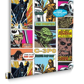 Star Wars Pop Art Collage Wallpaper, , large