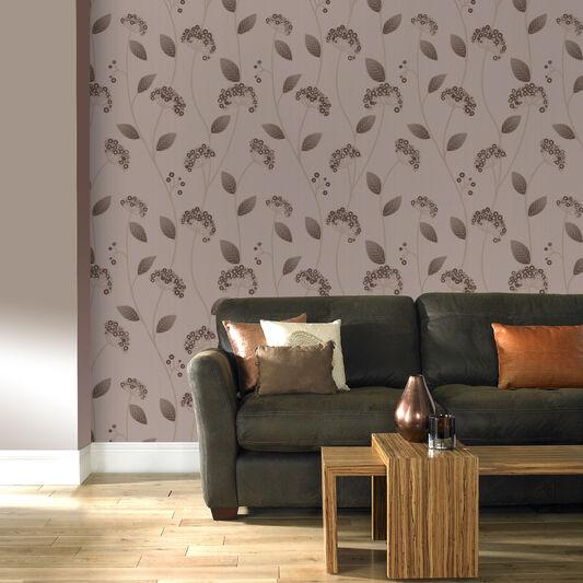 Claire Latte Wallpaper, , large