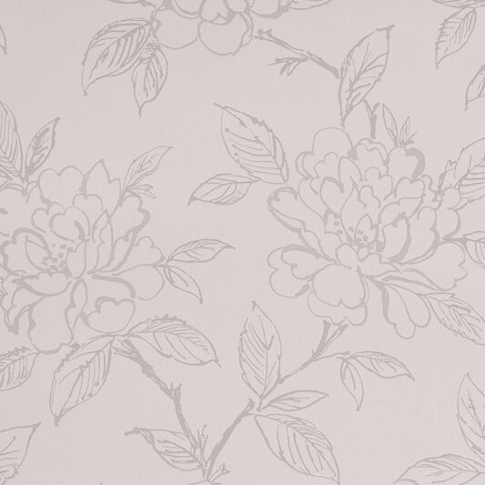 Bloom White Wallpaper, , large