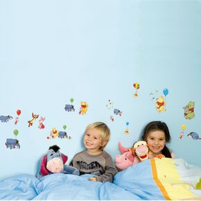 Winnie the Pooh Small Wall Sticker, , large