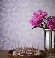 Cavern Lavender Wallpaper, , large
