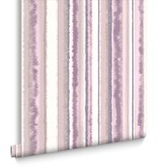 Romany Stripe Purple Wallpaper, , large