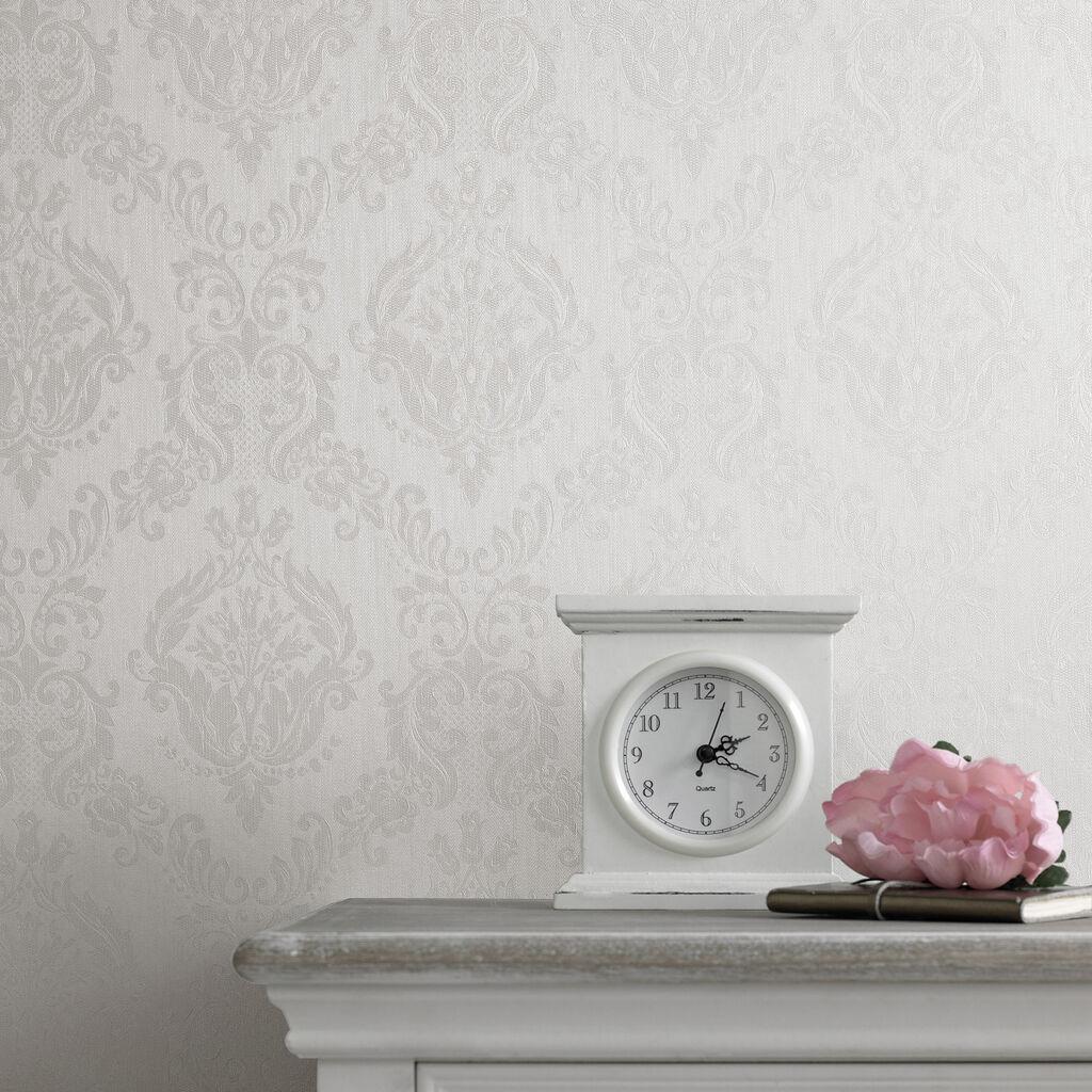 Pink Damask Wallpaper Bedroom Damask Wallpaper Wallpaper Modern Design