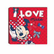 Minnie Mouse Printed Canvas, , large
