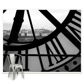 Orsay Clock Mural, , large