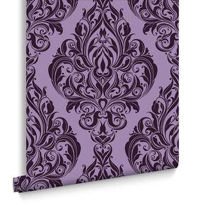 Kinky Vintage Purple Passion Wallpaper, , large