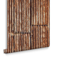 Rustic Metal Wallpaper, , large
