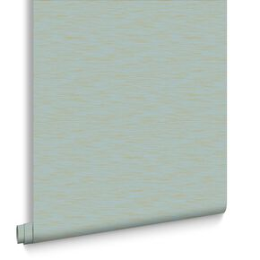 Breeze Aqua & Gold Behang, , large
