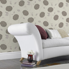 Bronte Chocolate Wallpaper, , large