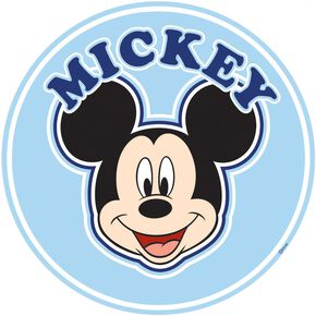 Mickey Over the Bed Sticker, , large