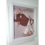 Graham & Brown Eleflump Layered Framed Print, , large