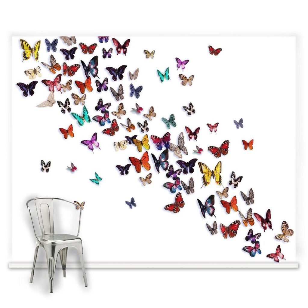 Release the butterflies mural grahambrownuk for Butterfly mural