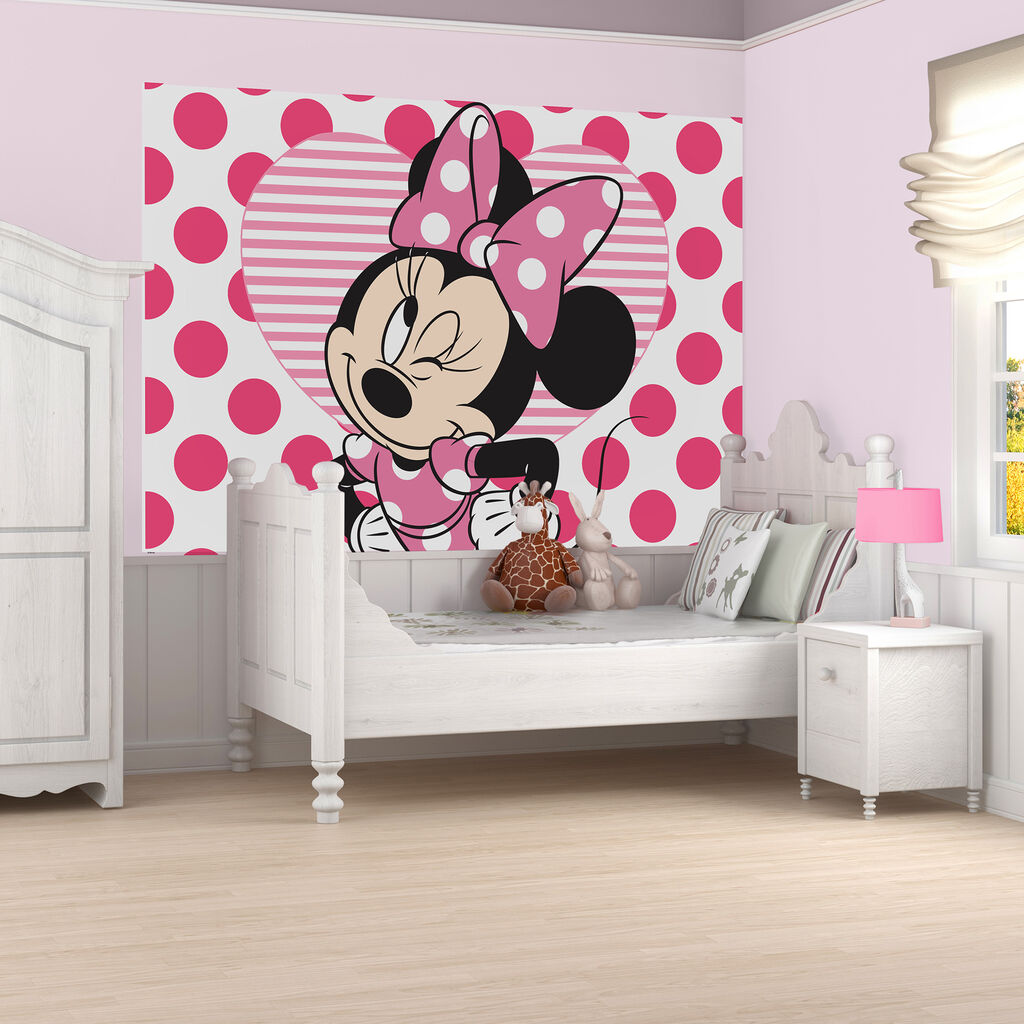 Minnie Mouse Mural, , large ...