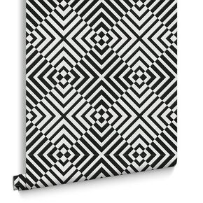 The Hypnotist Mono Wallpaper, , large