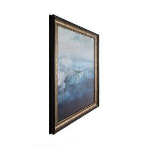 Gerahmtes Bild Tintenblau abstrakt , , large