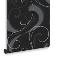Flamenco Charcoal en Silver, , large