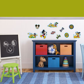 Mini décor en mousse Mickey – 10pièces, , large