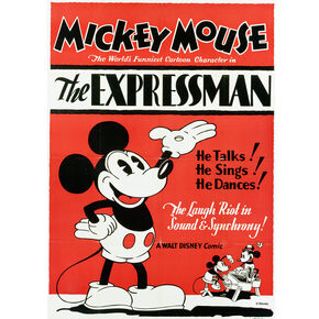 Mickey Expressman Printed Canvas, , large