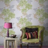 Cascada Soft Green Wallpaper, , large