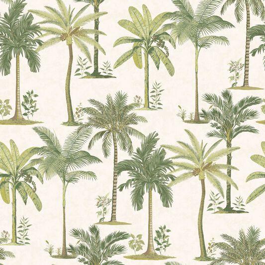 Fresco Palm Wallpaper, , large