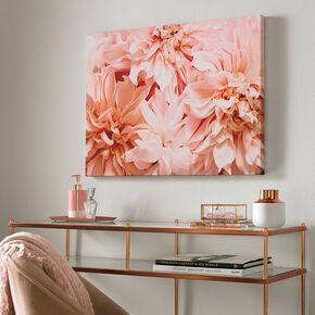 Blushing Blooms Printed Canvas, , large