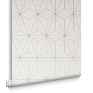 Prism Rose Gold Wallpaper, , large