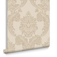 Regent Neutral Wallpaper, , large
